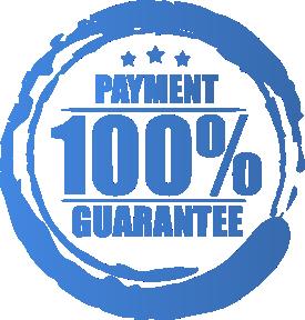 100% Payment Guarantee