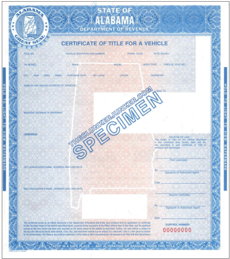 Cash For Your Car In Alabama Free Same Day Pickup The