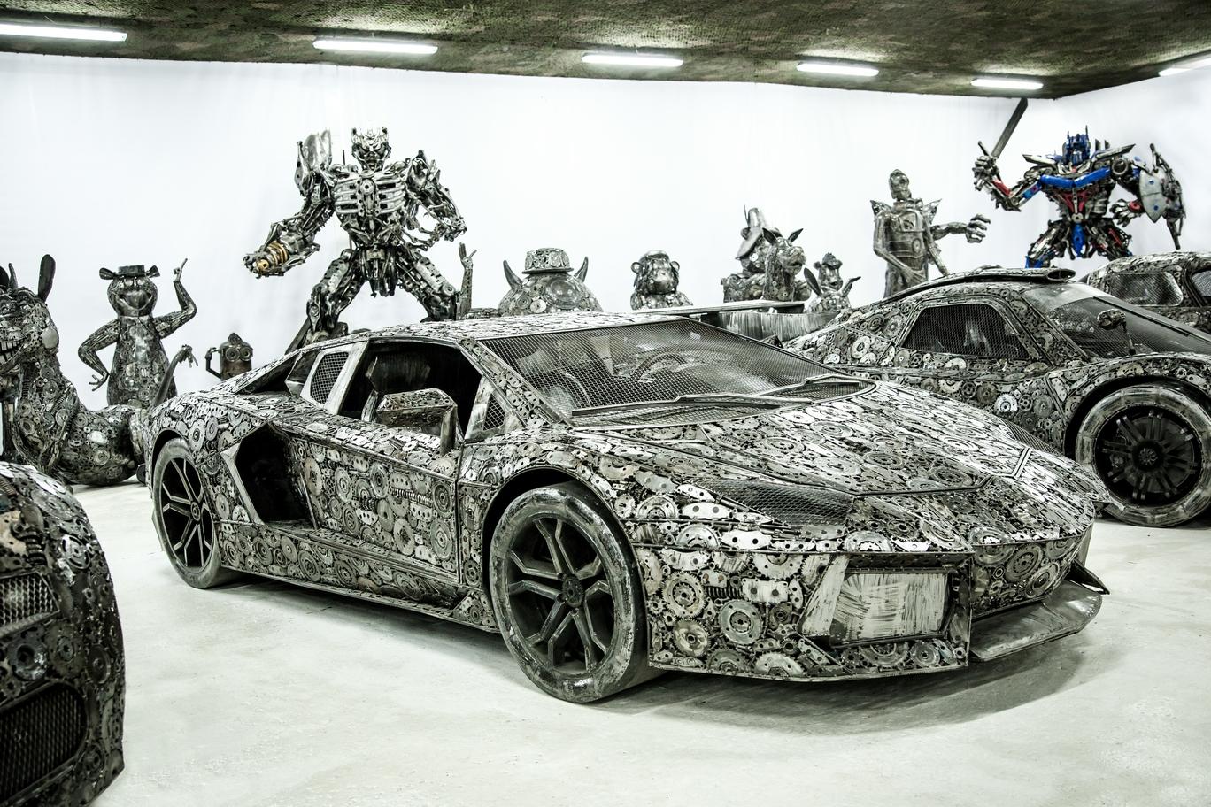 Scrap Lambo Aventador
