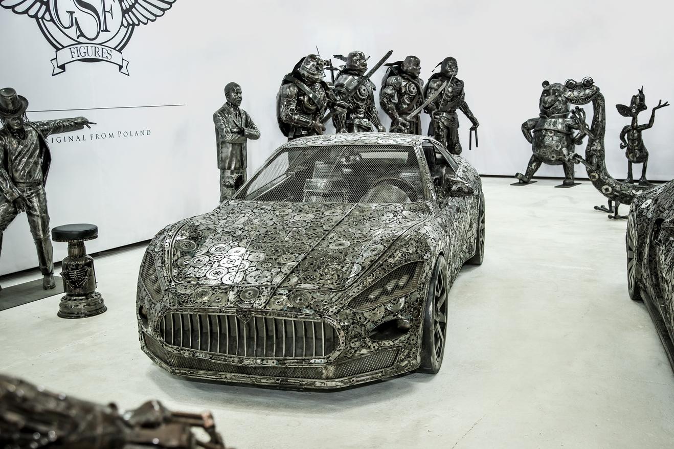 Scrap Maserati
