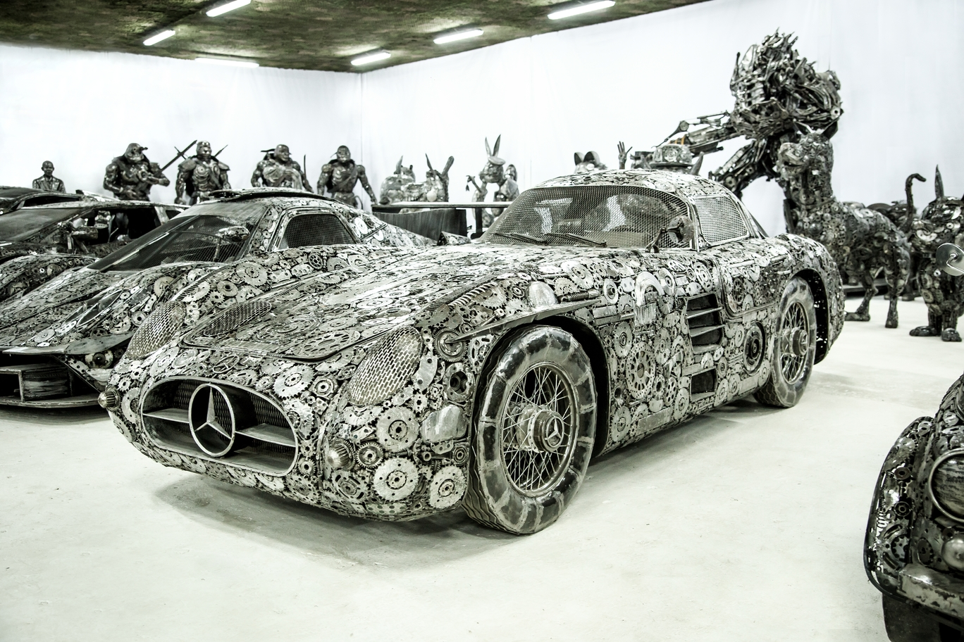 Scrap Mercedes-Benz SL